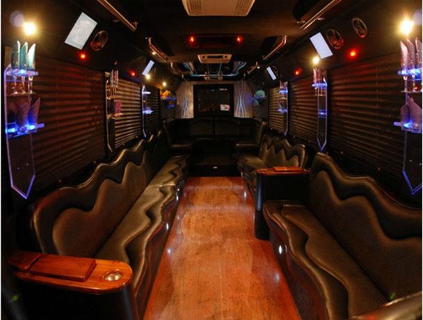 Party Buses Charter Bus Mini Coach Bus Party Bus